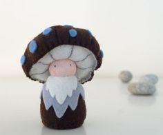Waldorf Mushroom Doll / King Boletus by shroompers on Etsy- good inspiration