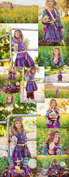 Matilda Jane Clothing Paint by Numbers Collection :: Boho Wildflower Shoot