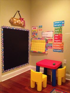 Pre-k at home.