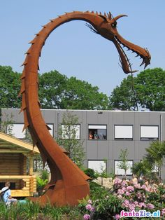 Floriade 2012 Venlo: Rusty Dragon