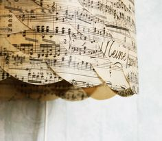 sheet music lamp