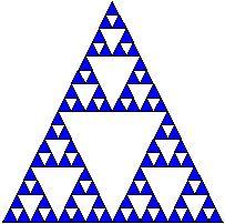 El triángulo de Sierpinski tiene dimensión de semejanza aprox. 1.584962500 Triangle, Tattoos, Fractals, Dragons, Dots, Tatuajes, Tattoo, Tattoo Illustration, Irezumi
