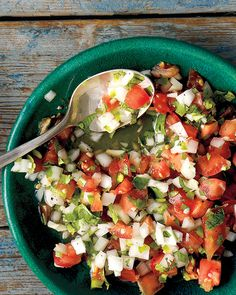 If you prefer chunky salsa to runnier varieties, this fresh salsa recipe is for you! Serve with tortilla chips or as a condiment for grilled meats.