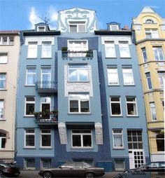 -HANNOVER List Kollenrodtstraße 66 belle epoque blaue Haus hanover germany