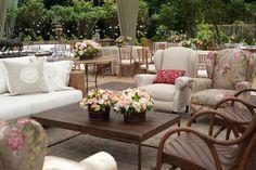 Perfect backyard for a garden tea party.