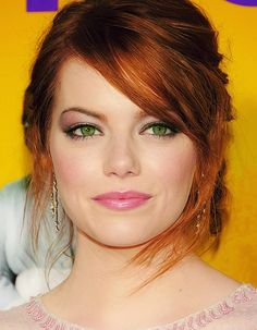 expressing your truth blog: Hair by Season, red hair and green eyes is said to be Spring
