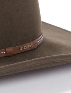 Aussie Hat, Pick Stitch, Slim Thighs, Outdoor Hats, Shoulder Joint, Wide Trousers, Leather Hats, Wool Felt, Stitching Leather