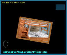 Bunk Bed With Stairs Plans 102318 - Woodworking Plans and Projects!