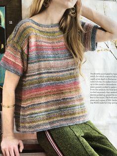 Summer Knitting, Fair Isle Knitting, Hand Knitting, Crochet Cardigan, Knit Crochet, Knitting Designs, Knitting Patterns, Woolen Craft, Vintage Knitting