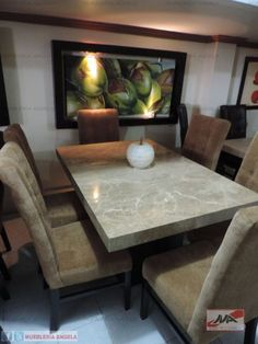 Every luxury dining room needs some eccentric and elegant furniture pieces. So, let us show you our selection of Modern Dining Tables to inspire you. Luxury Dining Tables, Dinning Room Tables, Luxury Dining Room, Square Dining Tables, Dining Table Design, Modern Dining Table, Dining Rooms, Table En Granit, Granite Dining Table