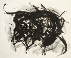 Elaine de Kooning, Taurus II (color trial proof #2), 1973, Tamarind Institute