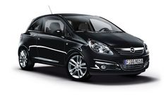 Offerte Auto Nuove Opel Corsa Con Una Foto Di Una Macchina Nera, Adatta Alle Famiglie, Molto Comode Da Guidare, Un Sacco Di Persone Interessate