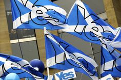 Scottish independence: the yes and no sides, in pictures