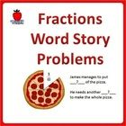 Solving Word Problems using Fraction Concept. The two fraction concepts covered are - fraction is part of a whole and comparing fraction. Story word problems reflect real life encounter. Children learn to apply fraction in daily life. Pictorial aids are provided to guide children along.
