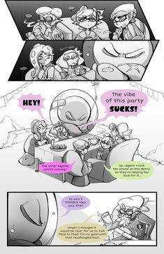Splatoon 2 comic part 9 Splatoon 2 Art, Splatoon Comics, Pearl And Marina, Callie And Marie, Storyboard Artist, 2nd Baby, Super Mario Bros, Comic Art, Twitter