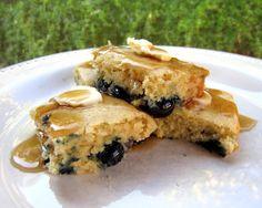 Baked Blueberry Pancakes