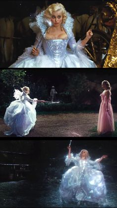 Helena Bonham Carter as the Fairy Godmother in Cinderella. Costume Designer: Sandy Powell