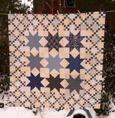 Love Blue and White qults.  By Minick & Simpson @ModaFabrics