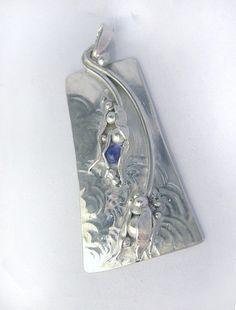 silver  and iolite, Juliette Arda