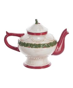 Christmas Morning Teapot