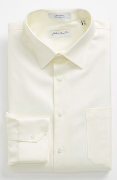 #John W. Nordstrom        #Tops                     #John #Nordstrom #Traditional #Dress #Shirt #Ecru   John W. Nordstrom Traditional Fit Dress Shirt Ecru 16 - 35                                              http://www.seapai.com/product.aspx?PID=5229063