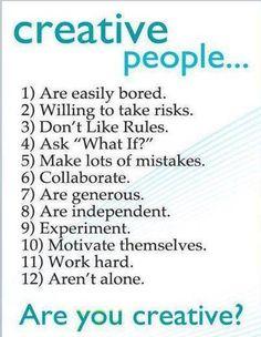 Creative people...are u one?