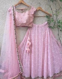 Baby Pink Lehenga