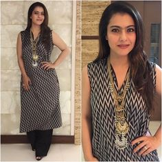 @kajol  Outfit - @amoh_byjade  Jewelry - @sachdeva.ritika  Styled by - @radhikamehra  #bollywood #style #fashion #beauty #bollywoodstyle #bollywoodfashion #indianfashion #celebstyle #kajol #ritikasachdeva