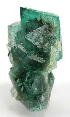 Fluorite, Riemvasmaak, near the Orange River, Northern Cape, South Africa, Miniature, 6.0 x 3.9 x 3.1 cm, RAZOR-SHARP, glassy octos to 3 cm dominate the top of this specimen., For sale from The Arkenstone, www.iRocks.com. For more details on this piece and others, visit http://www.irocks.com/minerals/specimen/1871