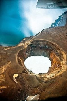 Lake Viti, Askja Vulcano, Iceland