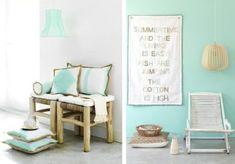 Wandfarbe Mintgrün verleiht Ihrem Wohnraum ein magisches Flair -