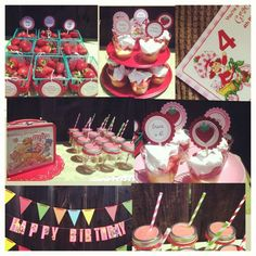 Grace's Vintage Strawberry Shortcake Birthday