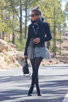 Looks con faldas grises - Trendtation