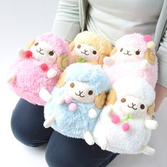 kawaii stuffed animals and cute poofy plush toys Fuwafuwa Woolly Plushies