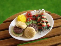 Miniature Food - Barbecue Plate A | Flickr - Photo Sharing!