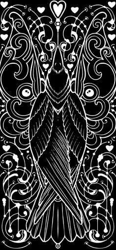 Gothic Crow/Raven Square Cross Stitch Chart now available at… Quoth The Raven, Raven Art, Crow Art, Jackdaw, Crows Ravens, Foto Art, You Draw, Bird Art, Bird Feathers