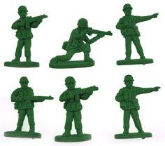 Pokaż szczegóły dla Zestaw Gumek Żołnierzyków