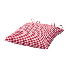 IKEA - VINTER 2014, Chair cushion, The chair cushion has two identical sides so it can be turned over for even wear.The ties make the cover easy to remove.