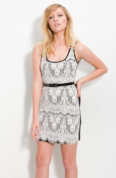 Royal Underground Lace Tank Dress