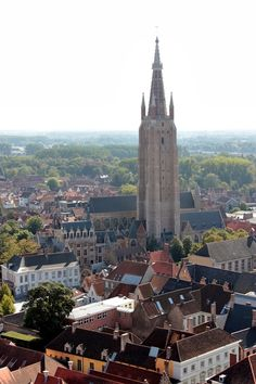 Church of Our Lady, Bruges | Belgium. Photo taken by me (Nacho Coca)