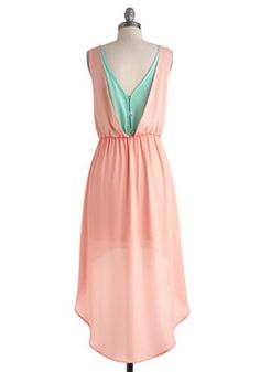 Cotton Candy Classy Dress, #ModCloth  How about this one? Colors are dead on!
