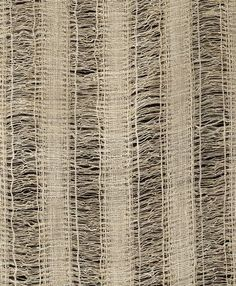 Rita Beales | plain weave with openwork warp | hand-spun linen: fine + medium z singles | 536 cm x 54.5 cm | U.K. | undated: estimated c. 1926-'79