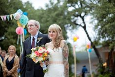 Colorful Texas Wedding at Mercury Hall « Southern Weddings Magazine