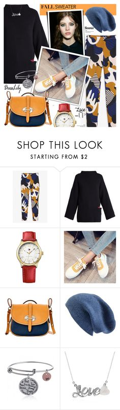 """""""Fall fashion - dresslily 26"""" by cly88 ❤ liked on Polyvore featuring Monki, STELLA McCARTNEY, Tommy Hilfiger, Dooney & Bourke and Halogen"""