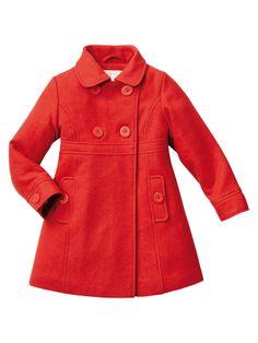 Abrigo paño de lana Frío Moderado niña 2 a 14 años, Niña
