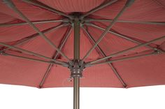 FiberBuilt Umbrellas and Cushions The Market Umbrella - HUB CLOSE UP -  Available in 7.5ft,9ft & 11ft Octagon and 6ft & 7.5ft Square, Push Up, Pulley & Pin or Crank Lift, Made with Sunbrella Marine Grade Solution Dyed Acrylic Fabric. alexis@fiberbuiltumbrellas.com Market Umbrella, Pulley, Umbrellas, Cushions, Marketing, Outdoor Decor, Fabric, Throw Pillows, Tela