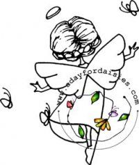 Joy Angel - A Day For Daisies - $4.00