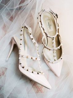Featured Photographer: Nicole Berrett Photography; Wedding shoes idea.