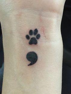 50 Eye-Catching Lion Tattoos That'll Make You Want To Get Inked - diy best tattoo ideas Tatoo Dog, Cat And Dog Tattoo, Cat Paw Tattoos, Black Cat Tattoos, Tattoo Cat, Paw Print Tattoos, Cute Tiny Tattoos, Mini Tattoos, Body Art Tattoos