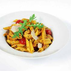 Penne with Chicken Marengo recipes.womenshealth.com